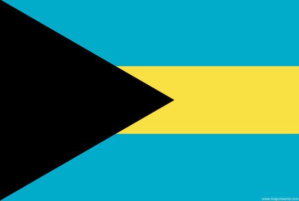 Bahamas Flag grande